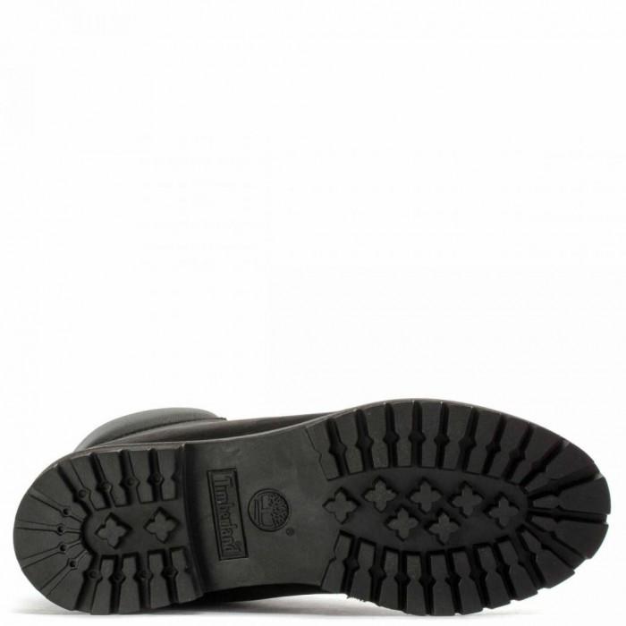 Мужские ботинки Timberland 6-Inch Classic Premium Nubuck Waterproof Black (Мех) 10061-005