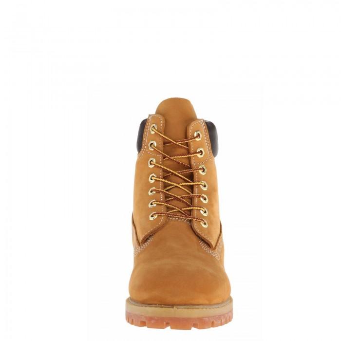 Мужские ботинки Timberland 6-Inch Classic Premium Nubuck Waterproof Yellow (Мех) 10061-007