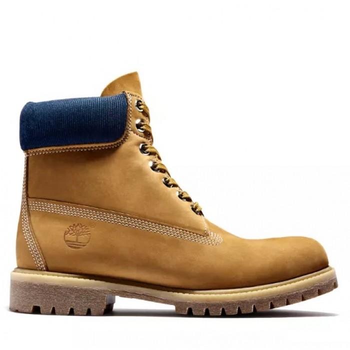 Мужские ботинки Timberland 6-Inch Premium Yellow/Navy 10061-030